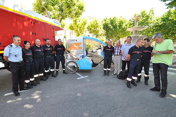 Tournée prévention incendie 2014