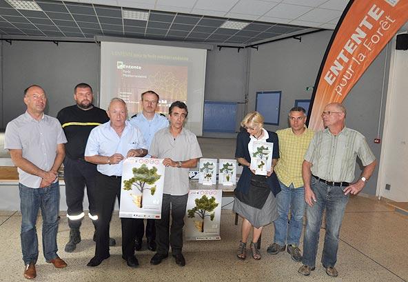 Lancement de la campagne de prévention des feux de forêt en Ardèche