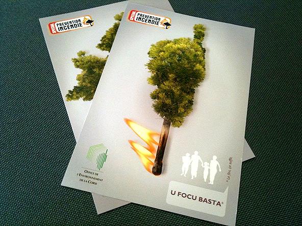 Campagne de prévention feu de forêt en Corse