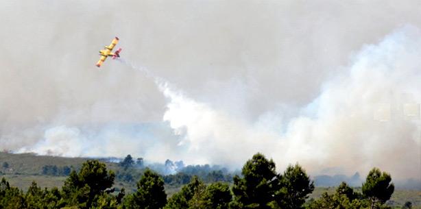 Incendie Narbonne Fleury