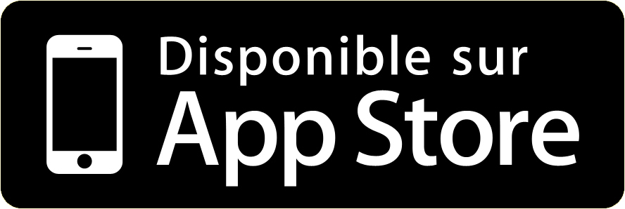 Application disponible sur AppStore
