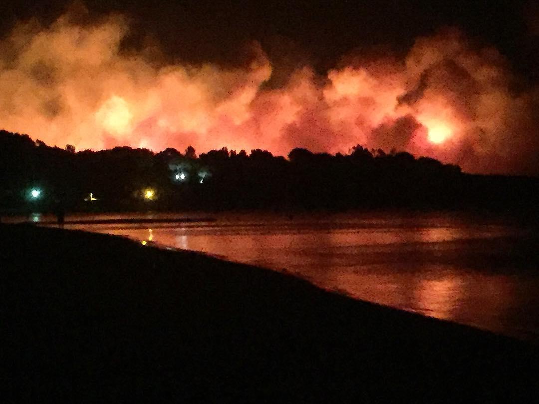 Incendie à Bormes-Les-Mimosas, dans le Var