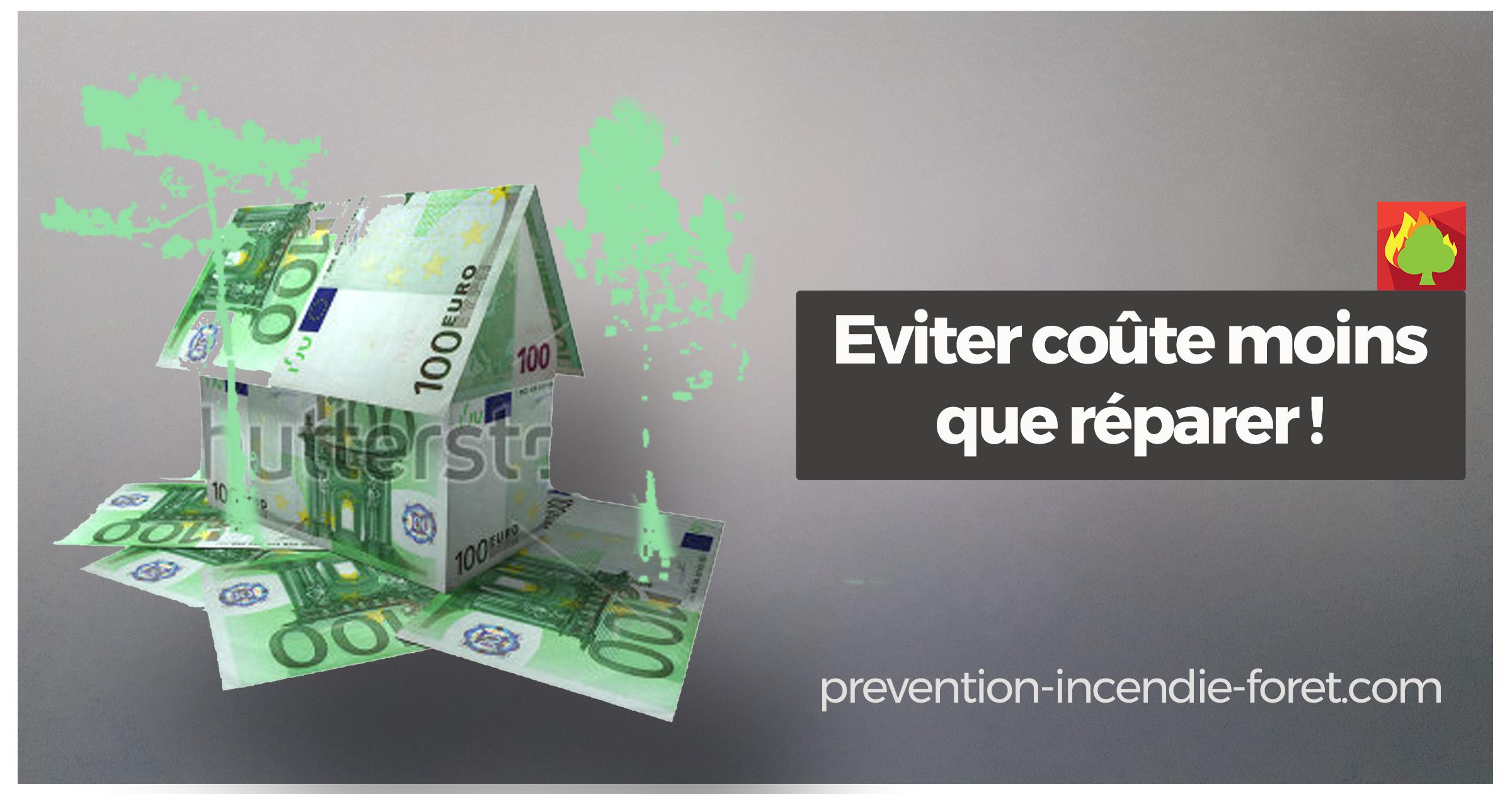 Eviter l'incendie coûte moins cher que réparer !