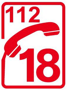 Alerter pompier 18 ou 112
