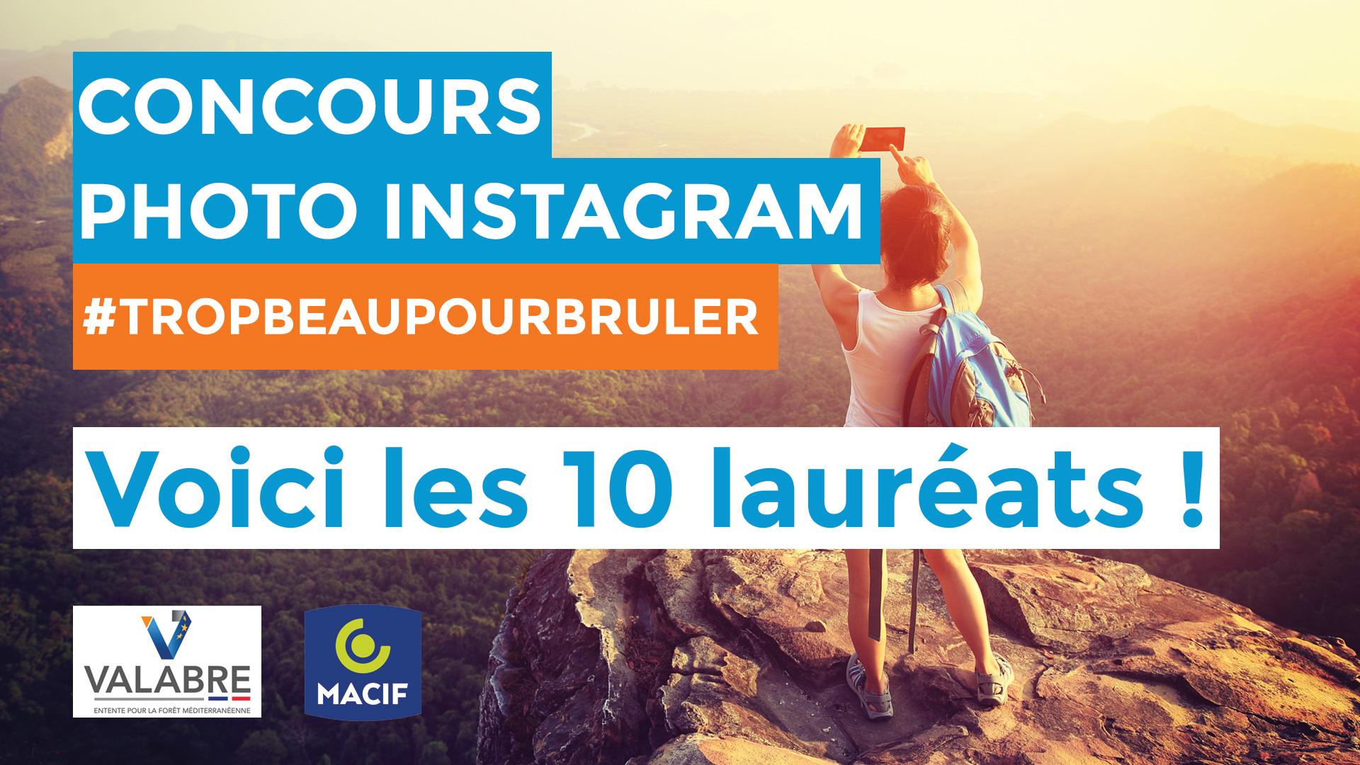 Lauréats du Concours Photo MACIF Instagram